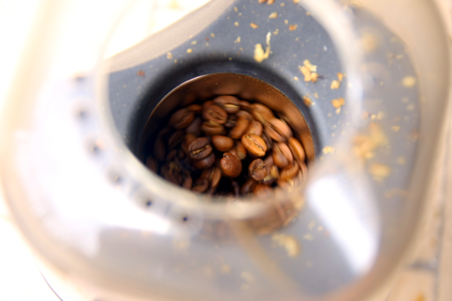 Coffee Beans Roasting in Popcorn Popper