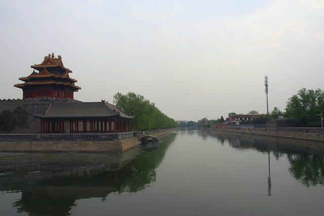 Moat around gugong
