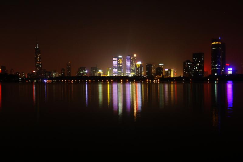 Nanjing by the lake